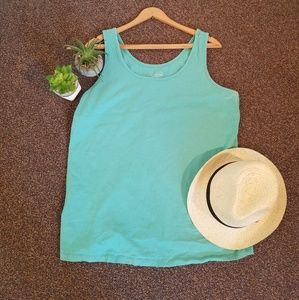 Maurices Bright Blue Layering Tank Top